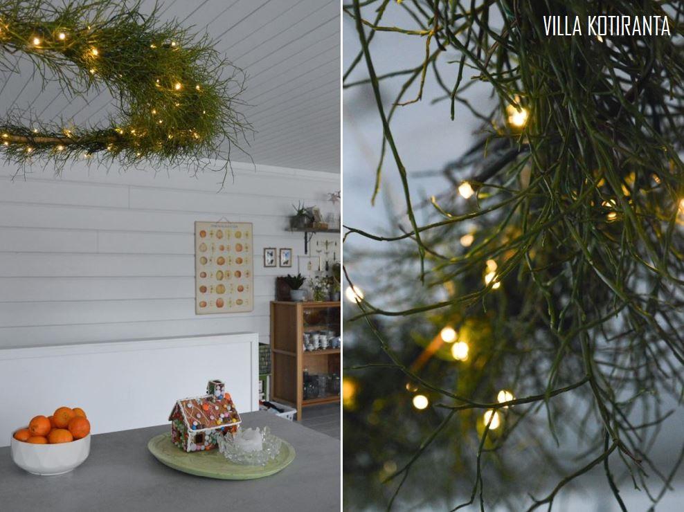DIY – Hulavannekranssilla joulun tunnelmaa tupaan