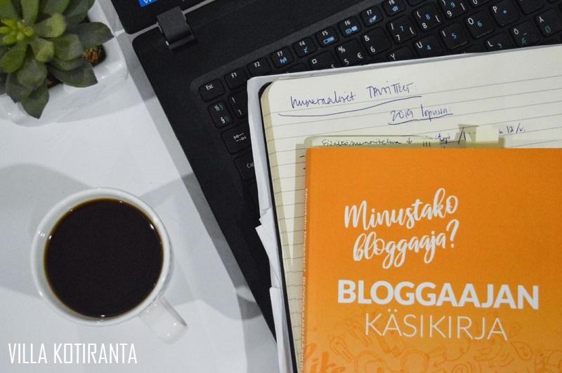 Bloggaajan käsikirja – opas bloggaamisen saloihin