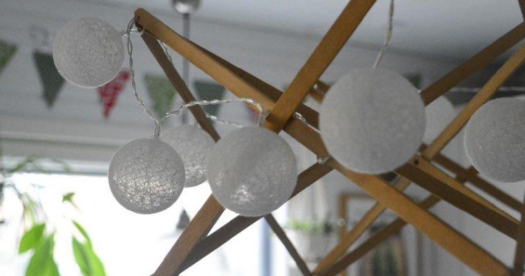 DIY – vyyhdinpuusta tunnelmavalaisin tupaan