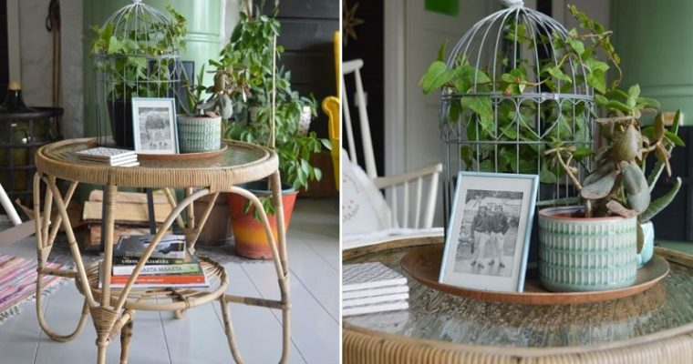 Perintöpöydän kunnostus ja ajatuksia kodikkuudesta