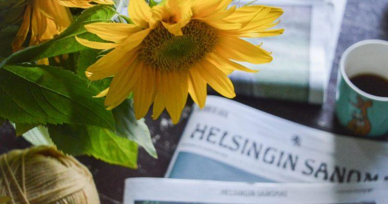 Viikonlopun pieni luksus ja ajatuksia lukemisen tärkeydestä